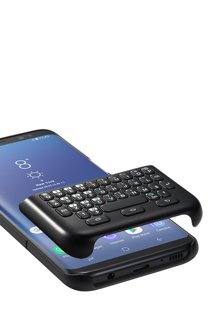 Samsung S8- with a physical keyboard, usage review | EskeRahn