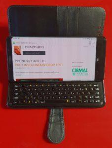 7 Color Backlight Apple Tablet Slim Leather Folio Cover BT